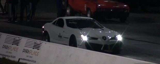 Tuning Mercedes: Cel mai rapid SLR din lume parcurge sfertul de mila in numai 9.76 secunde!
