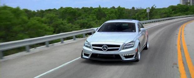 Tuning Mercedes: Demonstratie de putere si forta la bordul unui CLS de 700 CP