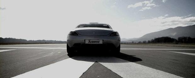 Tuning Mercedes: Evacuare Akrapovic pentru noul SLS AMG