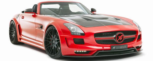 Tuning Mercedes: Hamann Hawk renunta la acoperis, pastreaza cei 636 cai putere