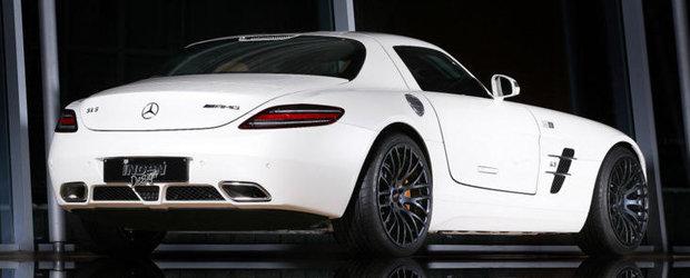 Tuning Mercedes: Inden Design ne gadila simturile cu un SLS AMG de 623 cai putere