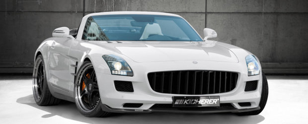 Tuning Mercedes: Kicherer modifica noul SLS Roadster
