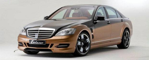 Tuning Mercedes: Lorinser ne face cunostinta cu cel mai puternic S-Class din lume