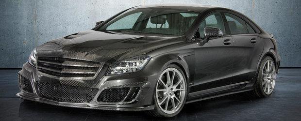 Tuning Mercedes: Mansory transforma noul CLS63 AMG intr-un Benz cauzator de probleme