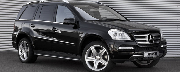 Tuning Mercedes: MKB indeasa un V12 sub capota unui GL500
