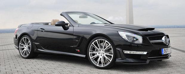Tuning Mercedes: Noul BRABUS 800 Roadster este cel mai puternic Roadster din lume!