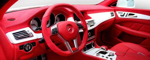 Tuning Mercedes: Noul Carlsson CK63 RS este un CLS63 AMG pe placul lui Mos Craciun
