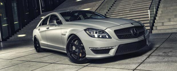 Tuning Mercedes: Noul CLS63 AMG primeste 700 CP, vopsea mata, plus jante pe 20