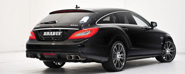 Tuning Mercedes: Noul CLS63 AMG Shooting Brake primeste tratamentul BRABUS B63S - 730