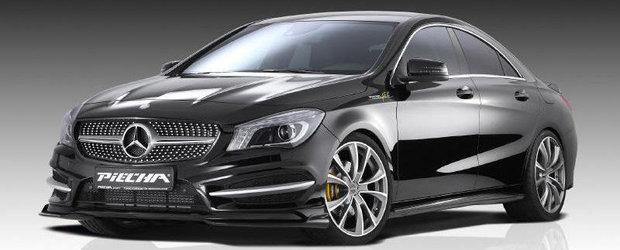 Tuning Mercedes: Piecha Design ia la modificat noul Mercedes CLA