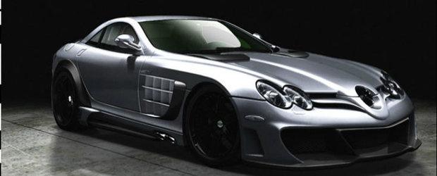 Tuning Mercedes: Premier4509 injecteaza vechiul SLR cu un plus de dramatism
