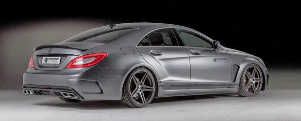 Tuning Mercedes: Prior Design scoate la iveala partea intunecata a ultimului CLS