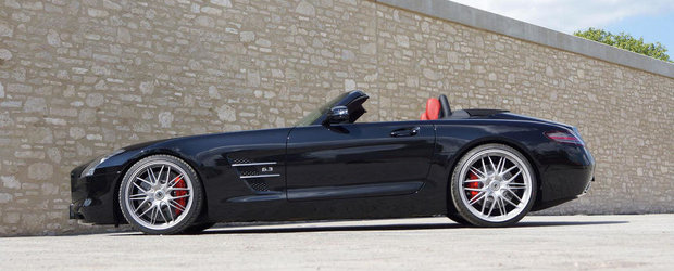 Tuning Mercedes: Senner modifica germanul SLS AMG Roadster