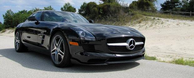 Tuning Mercedes SLS AMG: Bunatati din fibra de carbon de la Renntech