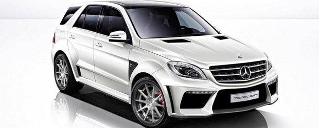 Tuning Mercedes: TopCar isi lasa amprenta asupra noului ML63 AMG