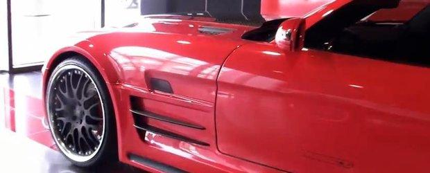 Tuning Mercedes: un SLS Hamann din Dubai