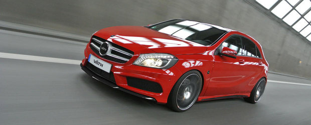 Tuning Mercedes: Vath modifica noul A250, obtine 245 CP si 390 Nm!