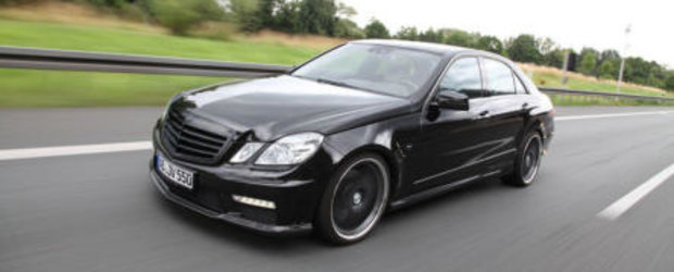 Tuning Mercedes: Vath modifica ultimul E500, obtine performante demne de un AMG