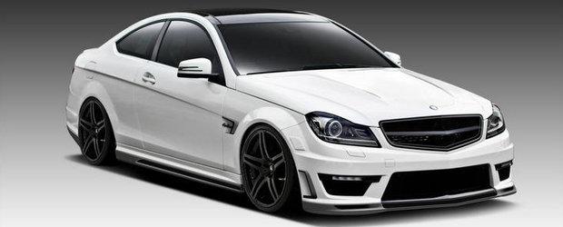 Tuning Mercedes: Vorsteiner atinge subtil noul C63 AMG Coupe