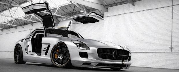 Tuning Mercedes: Wheelsandmore ofera noi bunatati pentru modelul SLS AMG