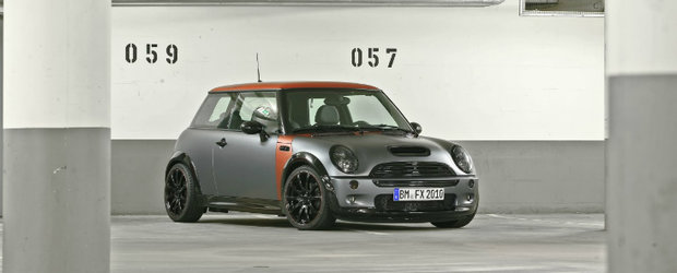 Tuning Mini: CoverEFX ia la modificat vechiul Cooper S