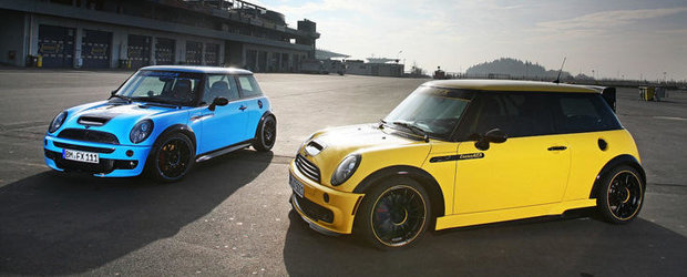 Tuning MINI: CoverEFX ne ispiteste cu doua MINI JCW viu-colorate