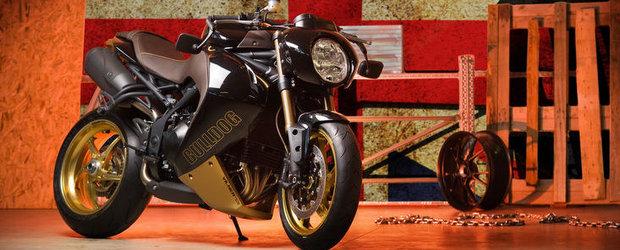 Tuning Moto: Vilner transforma Triumph-ul Speed Triple intr-un Bulldog pe doua roti