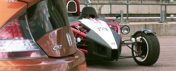 Tuning: Mugen vs. Mugen cu Honda CR-Z si Ariel Atom