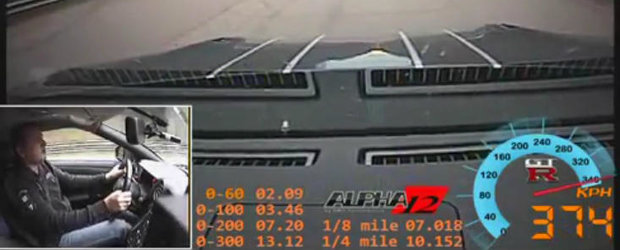 Tuning Nissan: AMS Alpha 12+ accelereaza de la 0 la 300 km/h in 13.12 secunde. VIDEO AICI!