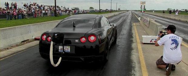 Tuning Nissan: AMS Alpha Omega parcurge sfertul de mila in 8.62 secunde!