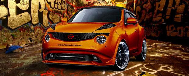 Tuning Nissan: Fox Marketing lucreaza la un Juke de 400 cai putere!
