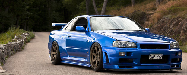 Tuning Nissan Skyline R34 GT-R - functionalitate si perfectiune japoneza