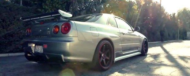 Tuning Nissan: un Skyline R34 de 1000 cp, gata sa spulbere mitul GT-R