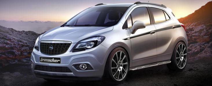 Tuning Opel: Accesorii subtile pentru noul Mokka