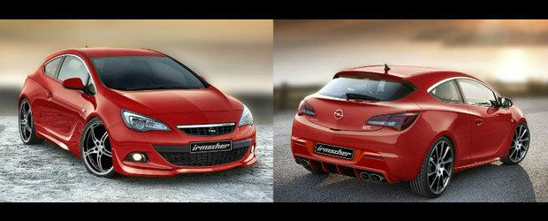 Tuning Opel: Irmscher dezvaluie primul kit de tuning pentru noul Astra GTC