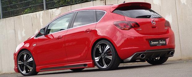 Tuning Opel: Senner insufla un plus de agresivitate noului Astra