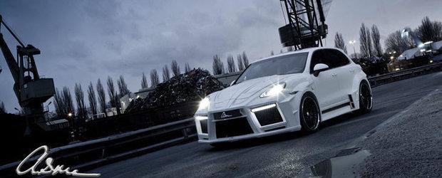 Tuning Porsche: ASMA modifica ultima generatie a modelului Cayenne