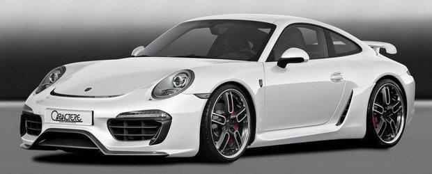 Tuning Porsche: Caractere ii insufla un plus de caracter noului 991