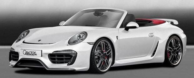 Tuning Porsche: Caractere isi lasa amprenta si asupra noului 991 Cabriolet