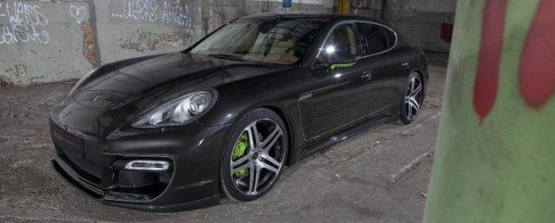 Tuning Porsche: Edo ne face cunostinta cu cel mai puternic Panamera S din lume