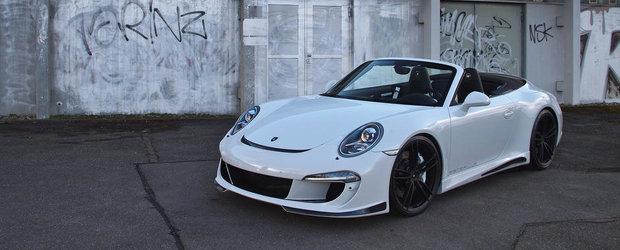 Tuning Porsche: Gemballa ia la modificat noul 911 Carrera S Convertible
