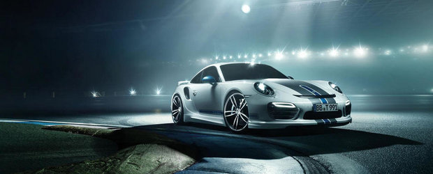 Tuning Porsche: Noul 911 Turbo de la TechArt revine in lumina reflectoarelor