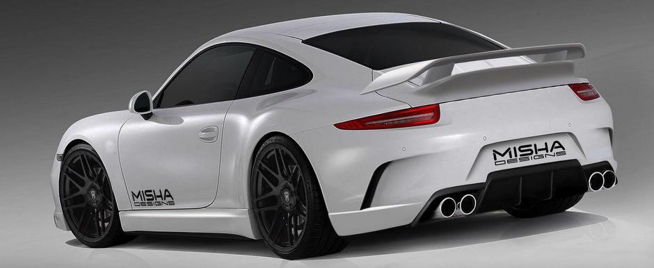 Tuning Porsche: Noul 991 by Misha Designs debuteaza la SEMA 2013
