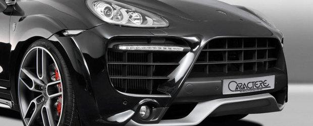 Tuning Porsche: Noul Cayenne primeste un plus de agresivitate din partea Caractere