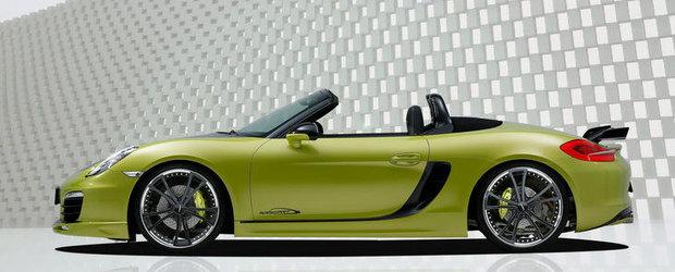 Tuning Porsche: speedART modifica noul Boxster