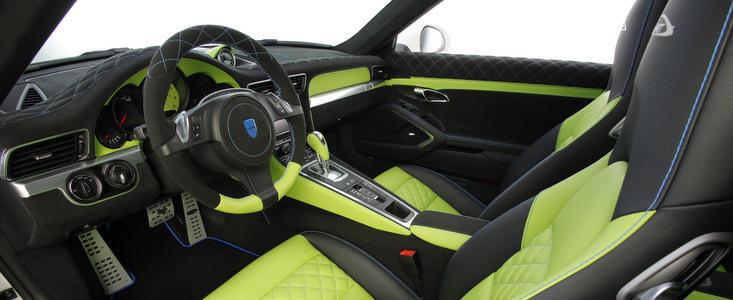 Tuning Porsche: SpeedART SP91-R se lauda cu un interior in doua ...