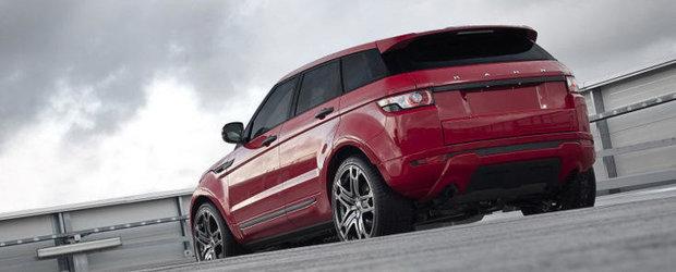 Tuning Range Rover: Project Kahn ia din nou la modificat recent-lansatul Evoque