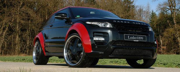 Tuning Range Rover: Si Loder1899 modifica popularul Evoque