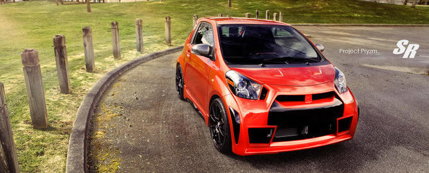 Tuning Scion: SR Auto Group prezinta Project Pryzm, cel mai agresiv iQ din lume!