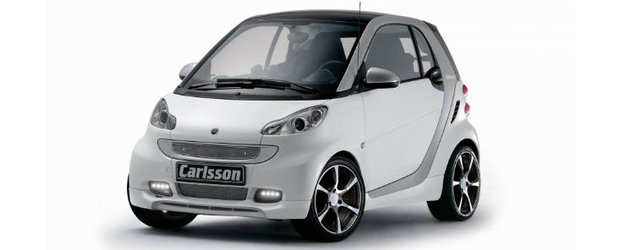 Tuning Smart: Carlsson ofera un desag de bunatati pentru micul Fortwo